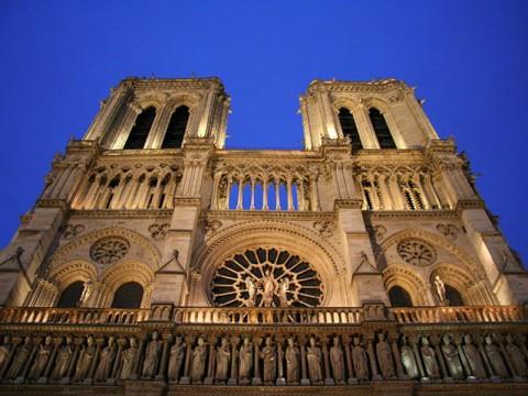 parīzes dievmātes katedrāle baltatour
